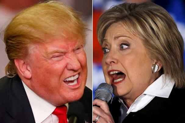 Clinton - Trump 607