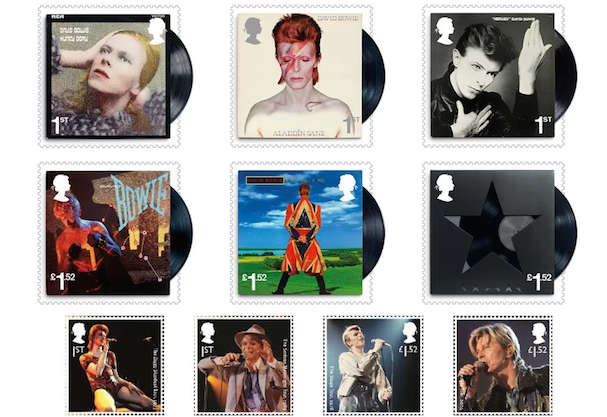 david bowie stamps 607