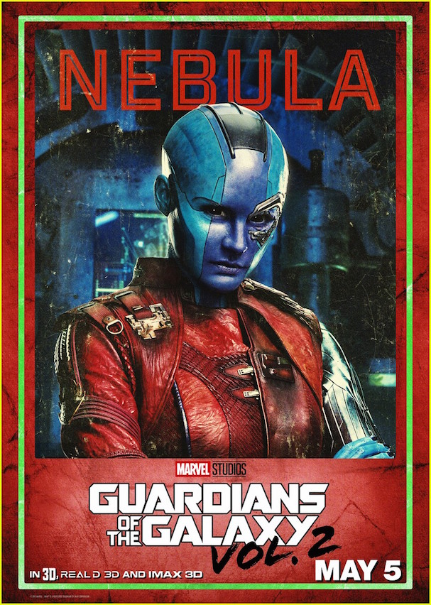 Guardians 2 Character posters 607 10