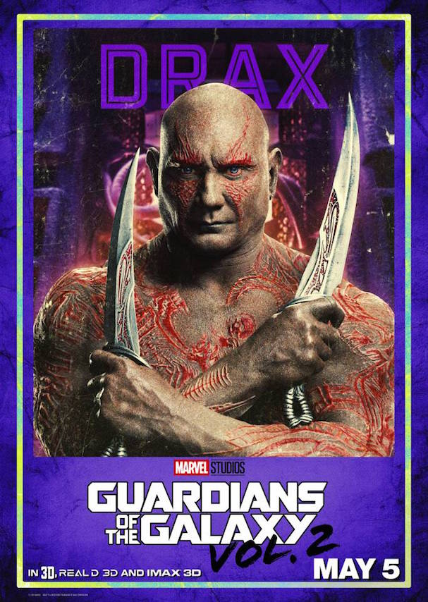 Guardians 2 Character posters 607 7