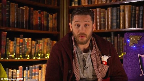 Tom Hardy reads There's A Bear On My Chair 607