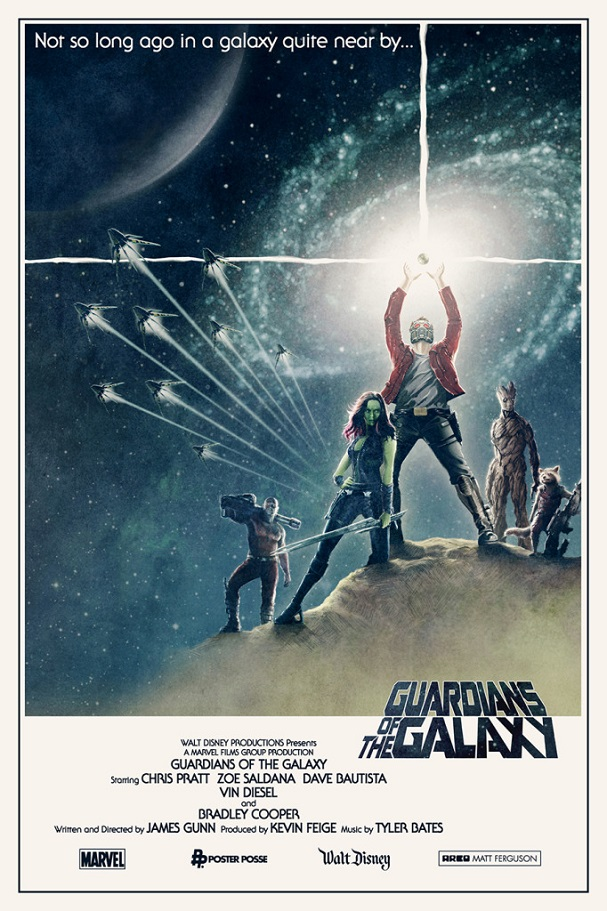 Guardians of the Galaxy Star Wars 607