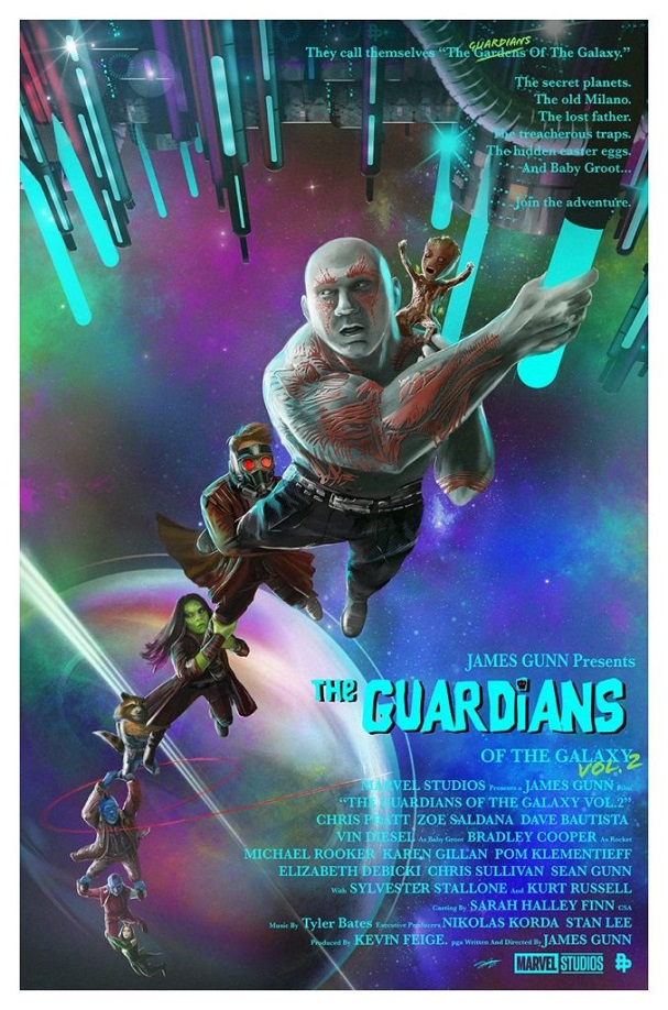 Guardians of the Galaxy Vol.2 by Andy Fairhurst 607