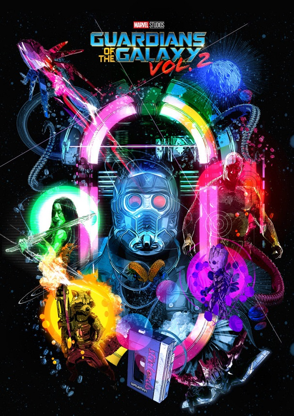 Guardians of the Galaxy Vol.2 by Chris Malbon 607
