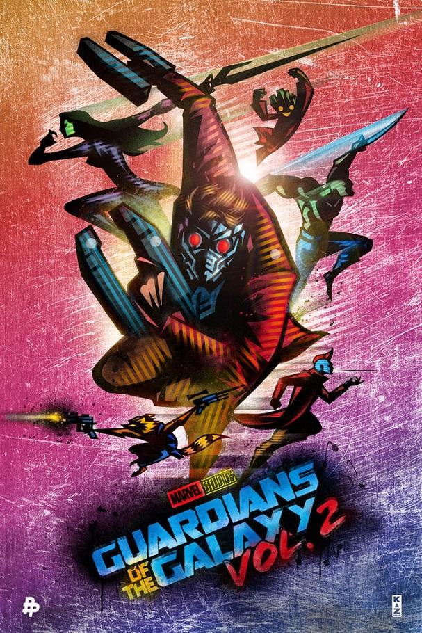 Guardians of the Galaxy Vol.2 by Kaz Oomori 607