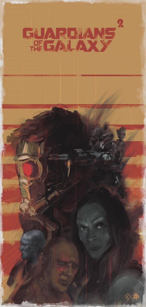 Guardians of the Galaxy Vol.2 by Rafal Rola 607
