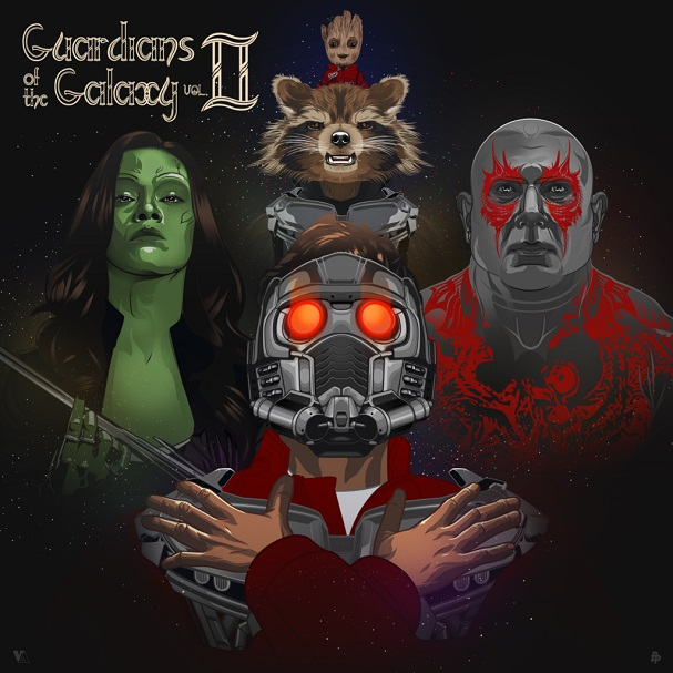 Guardians of the Galaxy Vol.2 by Vincent Aseo 607