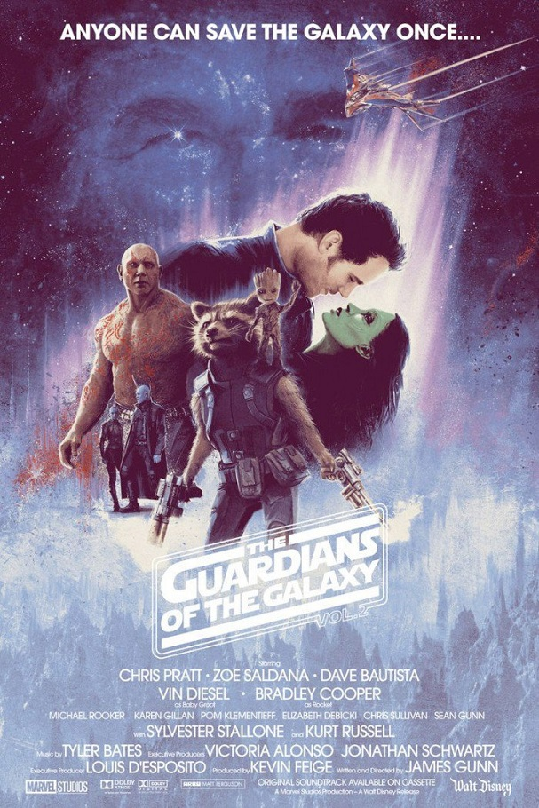 Guardians of the Galaxy Vol. 2 The Empire Strikes Back 607