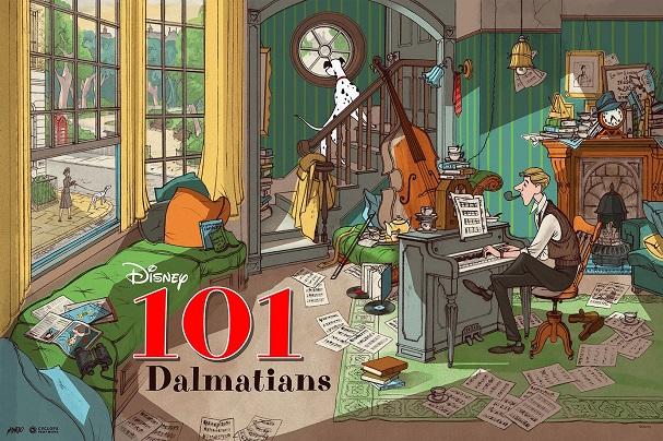 101 Dalmatians (Variant) by Jonathan Burton 607