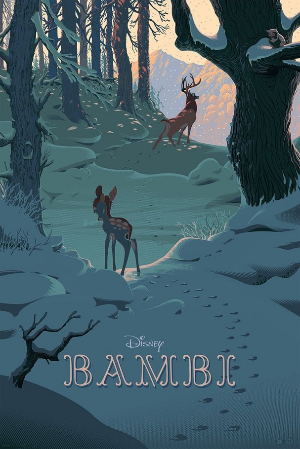 Bambi by Laurent Durieux 607
