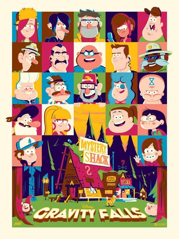 Gravity Falls by Dave Perillo 607