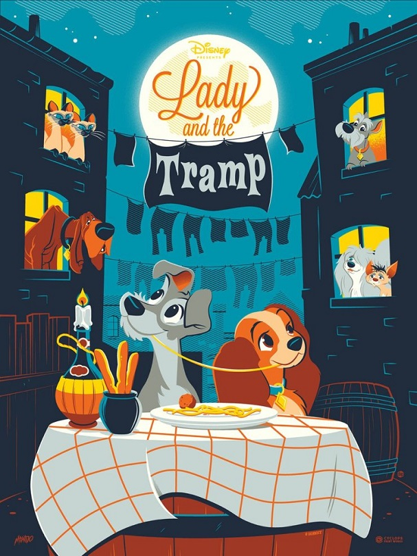 Lady and the Tramp by Dave Perillo 607