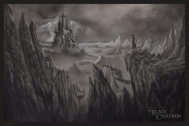 The Black Cauldron by Randy Ortiz 607