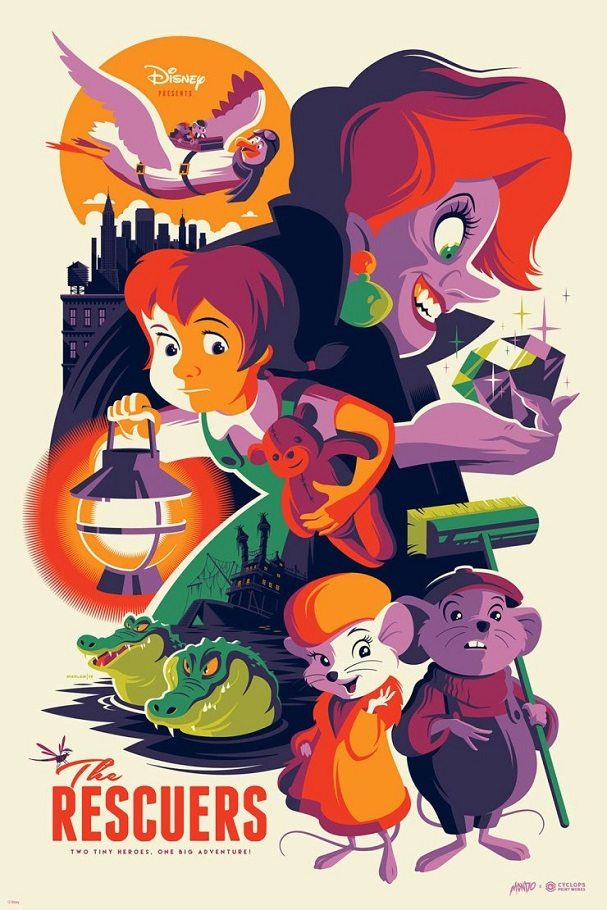 The Rescuers by Tom Whalen 607