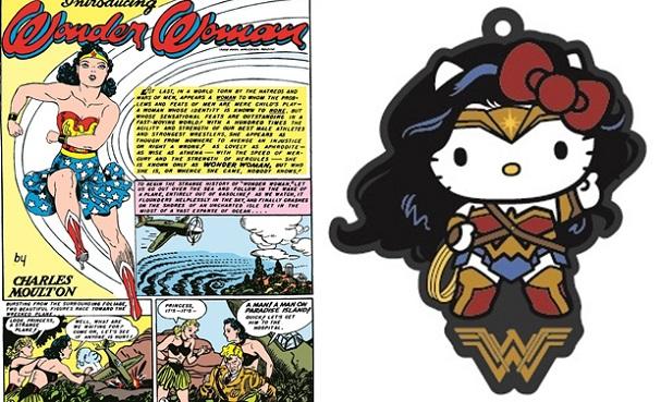 Wonder Woman - Hello Kitty 607