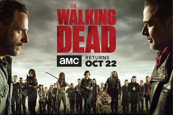 The Walking Dead season 8 main