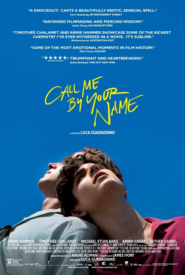 Call Me by Your Name poster 607