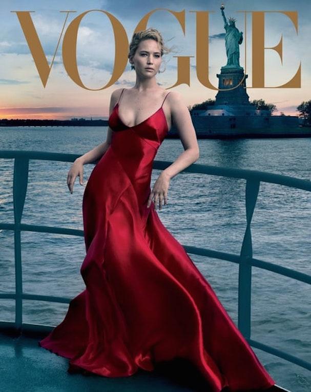 jennifer lawrence Vogue 607 2