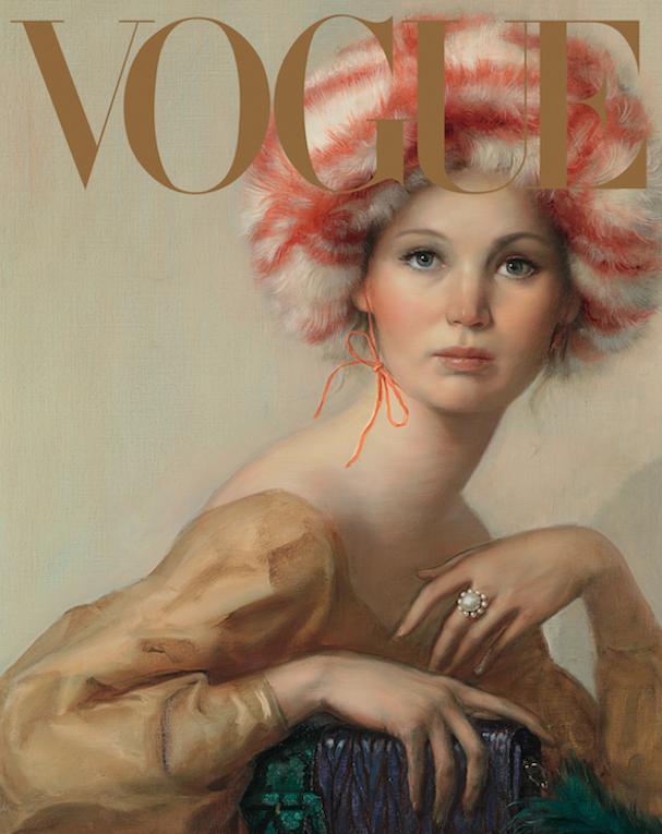 jennifer lawrence Vogue 607 3