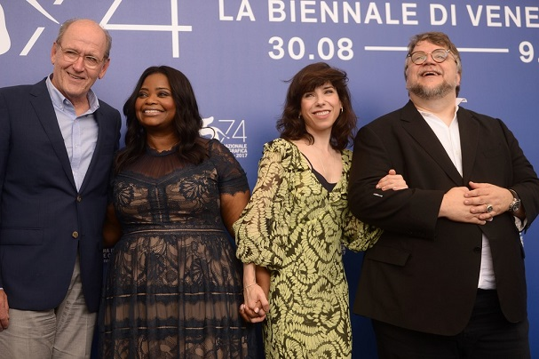 The Shape of Water press conference 607