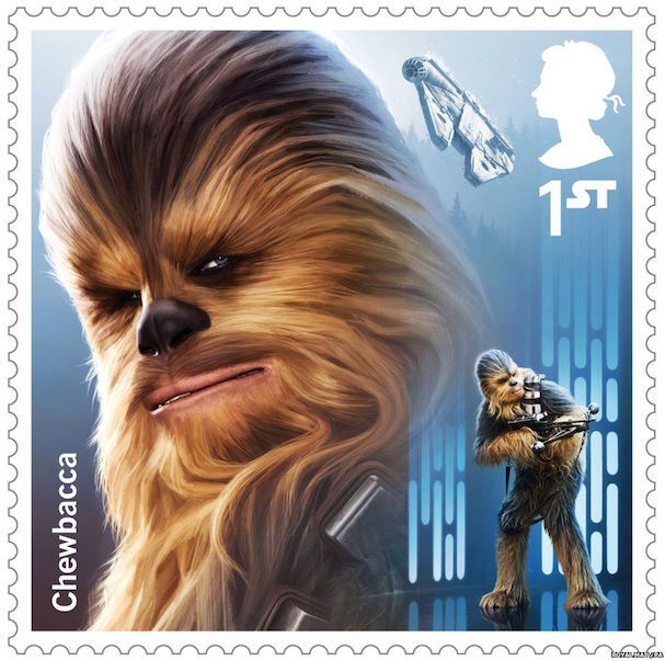 STAR WARS stamps 607 2