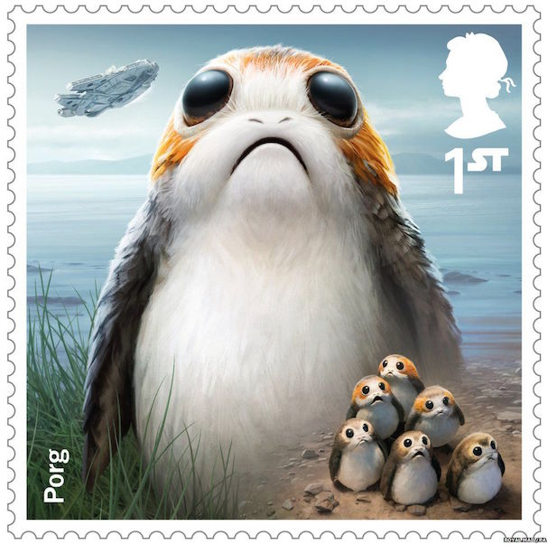 STAR WARS stamps 607 7