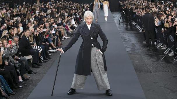 ελεν μίρεν fashion week 607