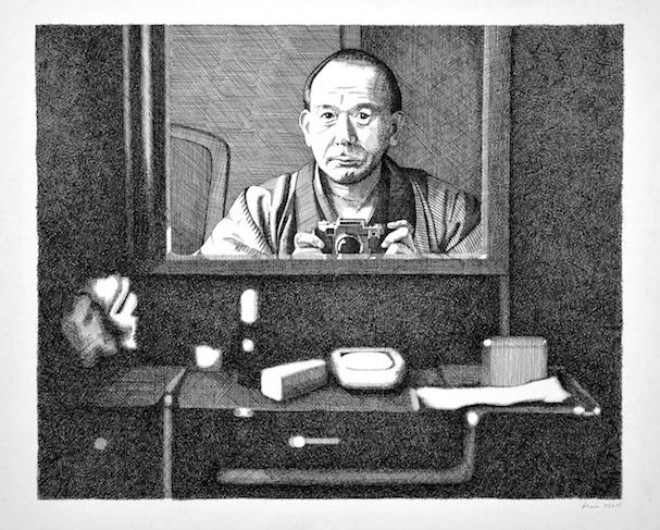 Ozu illustration by Bren Luke 607