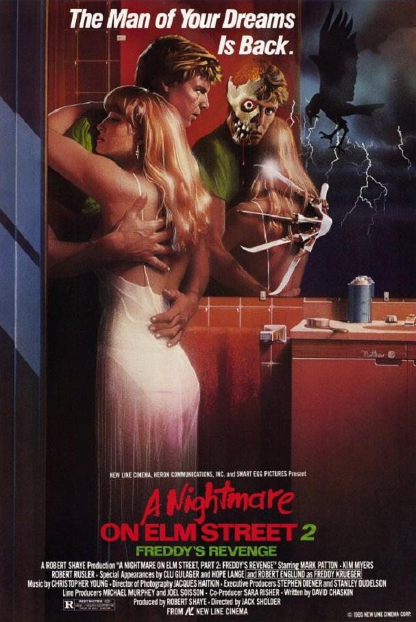 A Nightmare on Elm Street 2: Freddy's Revenge poster 607