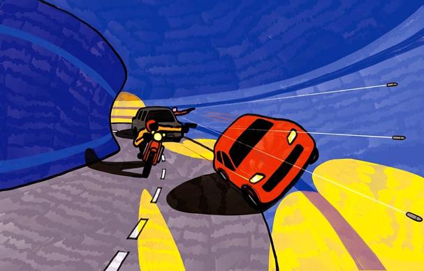 baby driver Illustration by Klaus Kremmerz 607