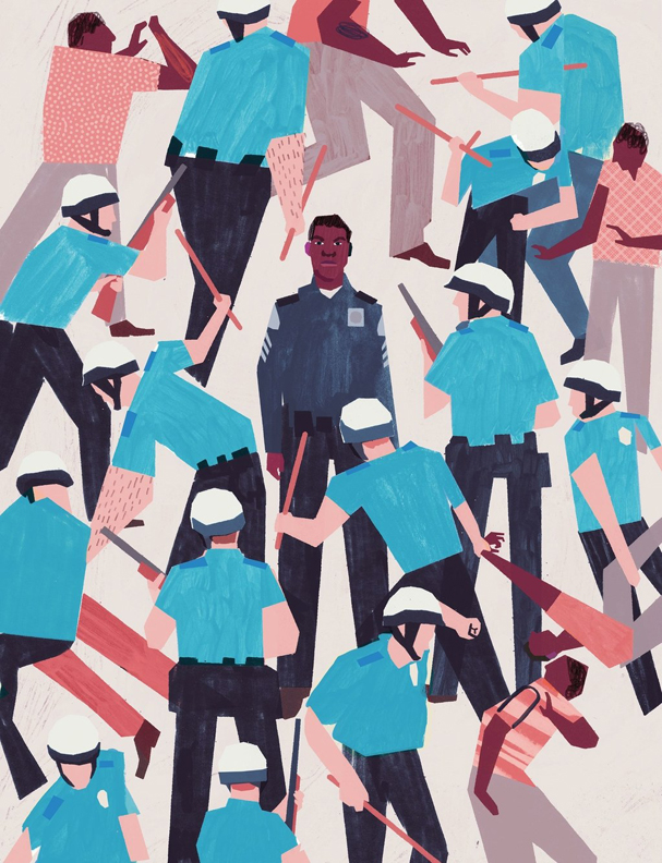 detroit Illustration by Keith Negley 607