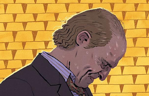 gold Illustration by Mikkel Sommer 607