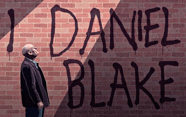 i daniel blake Illustration by Bill Bragg 607