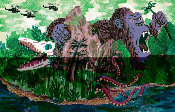 kong skull island Illustration by JooHee Yoon 607