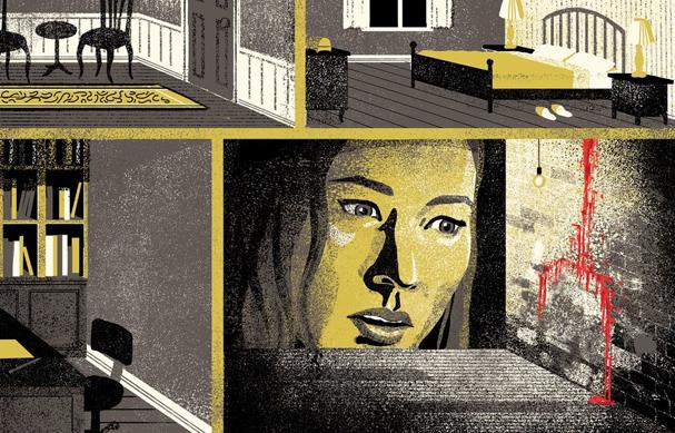 mother Illustration by Byron Eggenschwiler 607