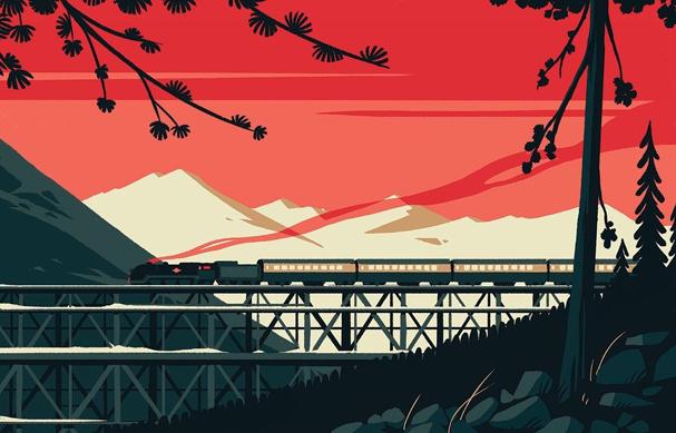 murder on the orient express Illustration by Tom Haugomat 607