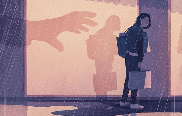 personal shopper Illustration by Karolis Strautniekas 607