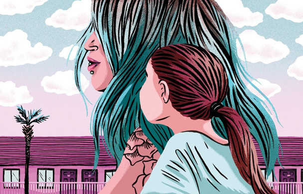 the florida project Illustration by Cari Vander Yacht