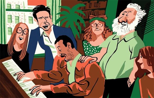 the meyerowitz stories Illustration by Joao Fazenda 607