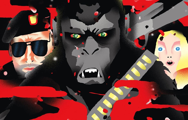 war for the planet of the apes Illustration by Daniel Zender 607
