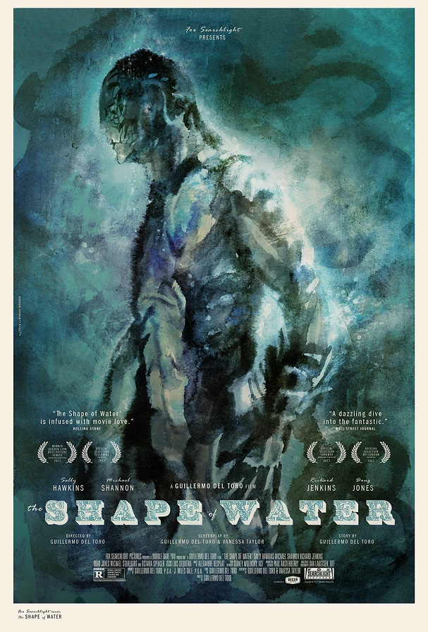 Shape of Water Midnight Marauder Tony Stella 607