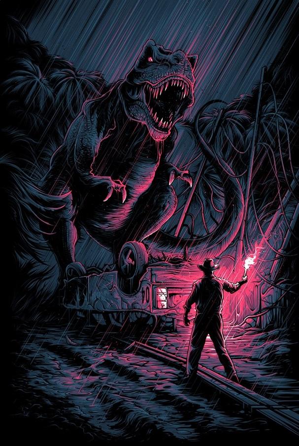 Dan Mumford - Jurassic Park 607
