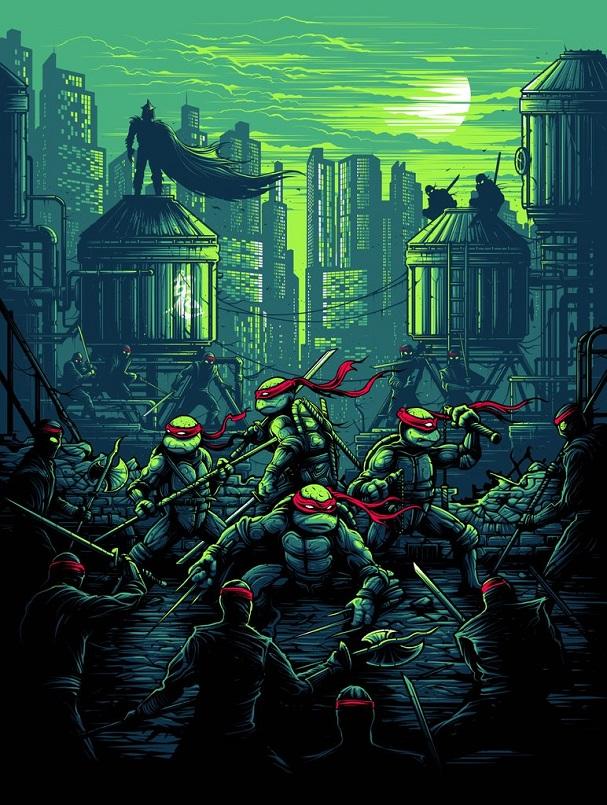 Dan Mumford - Teenage Mutant Ninja Turtles 607