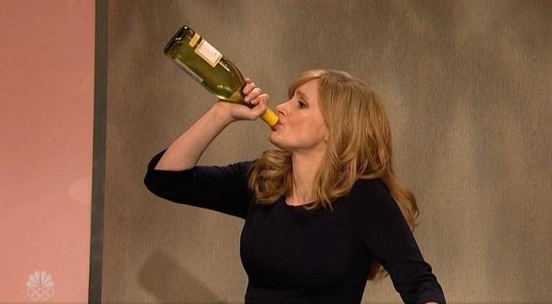 Jessica Chastain SNL 607