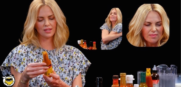 Charlize Theron hot sauce interview 607