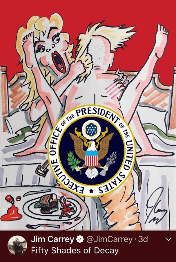 Jim Carrey anti trump portraits 607 2