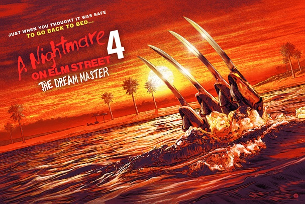 A NIGHTMARE ON ELM STREET 4 THE DREAM MASTER by Mike Saputo 607