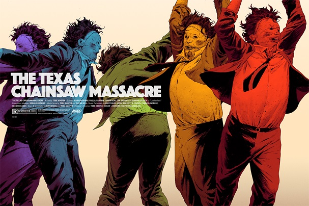THE TEXAS CHAINSAW MASSACRE (Horizontal) by Robert Sammelin 607