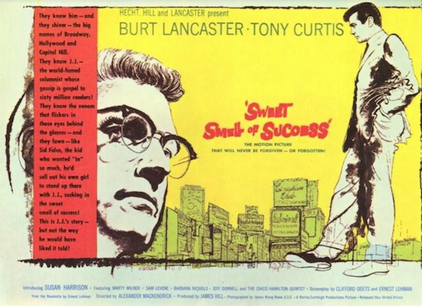 Sweet Smell of Success Poster 607