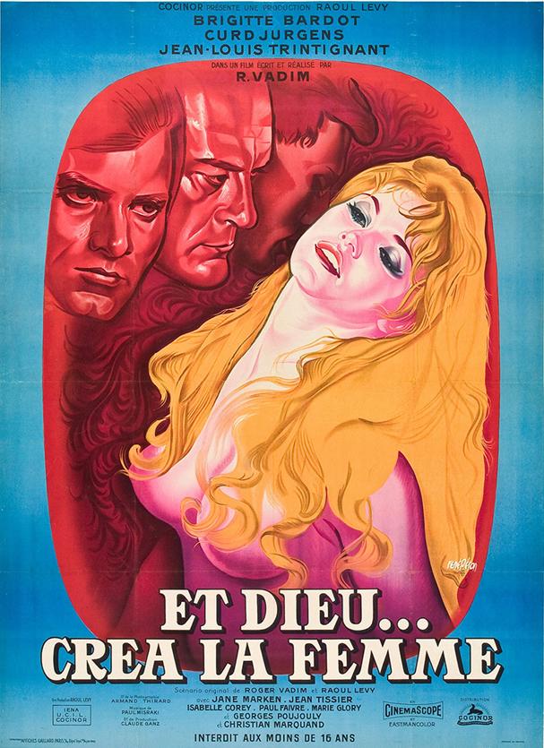 και ο θεός έπλασε τη γυναίκα poster 607